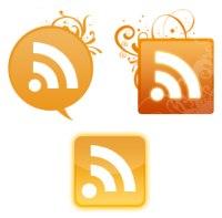 Авторские иконки RSS от Оverme