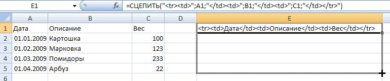 Как скопировать таблицу из Word в Joomla